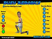 Bush Aerobics Game Online
