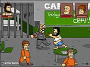 Hobo Prison Brawl Game Online